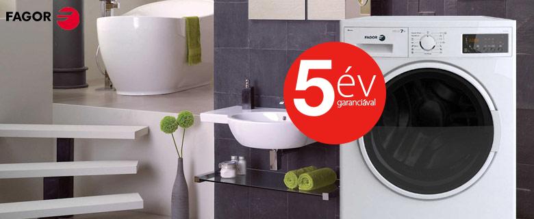 Fagor FE-7212A elöltöltős mosógép 7kg A+++,  5év garanciával!