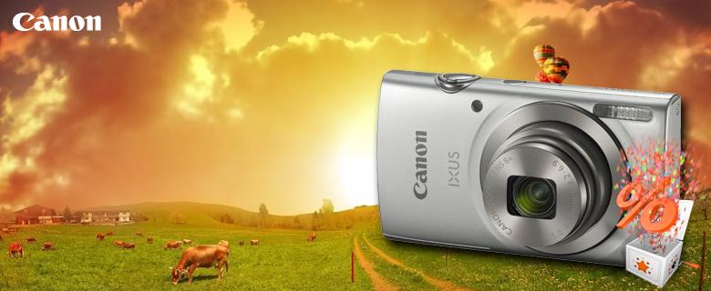 Canon Ixus 175 fényképezőgép, 10% kedvezménnyel!