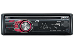 JVC KD-R35 CD/MP3 fejegység