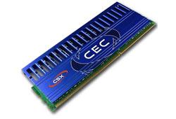 CSX  4GB Kit (2x2GB, 1333Mhz) Overclocking memorija